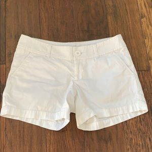 Lilly Pulitzer callahan short white size 0
